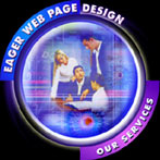 Eager Web Page Design - Our Services