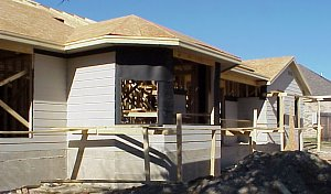 6 Exterior Roofing Pictures Of A Custom Home Being